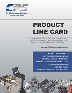 Certified Power Solutions Product Line Card