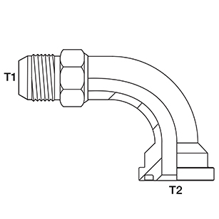 Hydraulic Hose Adapter