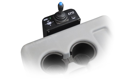Black Tip™ series single-joystick proportional plow control system used by snowplow trucks for snow and ice removal