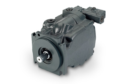 Danfoss Series 45 pump used by snowplow trucks for snow and ice removal