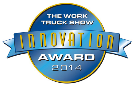 GPS DataSmart™ data collection and reporting software 2014 NTEA The Work Truck Show Innovation Award logo